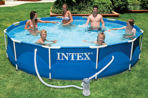 Бассейн Intex Metal Frame Pool