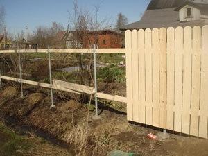 Как сделать забор для дачи своими руками