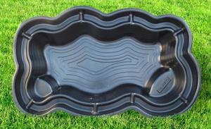 Пластиковая форма для пруда