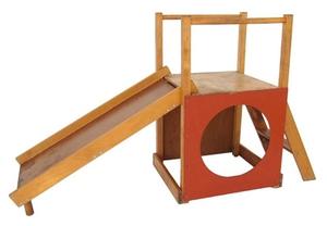 Конструкция простой детской горки