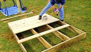 Строительство детского домика