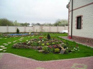 Благоустройство двора