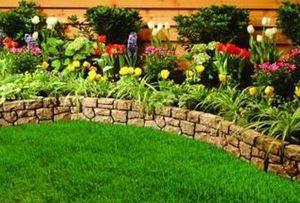 Бордюр для садовых дорожек: из чего и как сделать ландшафтный