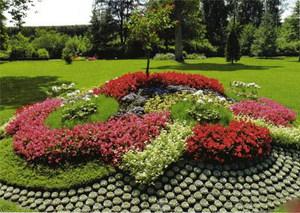 Оформление клумб в саду своими руками фото 437