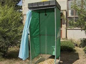 Как сделать душ на даче фото