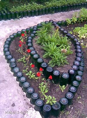 Заборчик из пластиковых бутылок своими руками фото 665