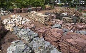 дорожки из натурального камня фото