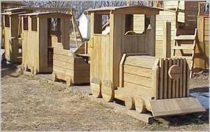 Постройки для детских дворовых площадок