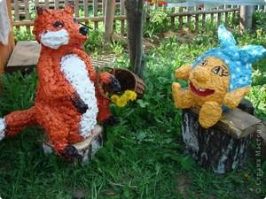 Фигурки для украшения сада