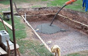 Как вырыть ковш бассейна