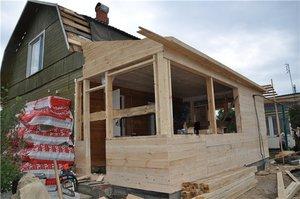 Как построить веранду к дому своими руками - этапы