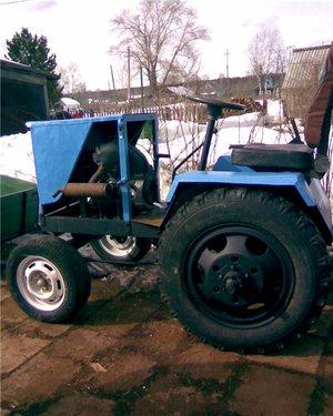 Какие детали нужны для сборки мини трактора