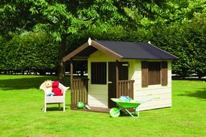 Как построить детский деревянный домик самостоятельно