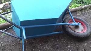 Как сделать садовую тележку своими руками