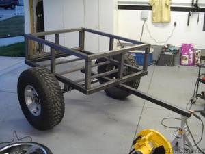 Прицеп для легкового автомобиля своими руками: размеры и