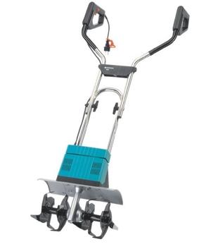 Культиватор электрического типа Gardena EH 600/36 подойдет для любого сада и огорода.