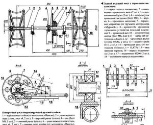 Минитрактор из мотоблока нева чертежи и схемы
