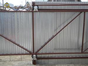 Откатные ворота на роликах