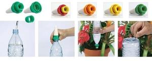 Как организовать капельный полив из пластиковых бутылок