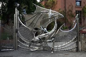 Кованные ворота - как их сделать самому