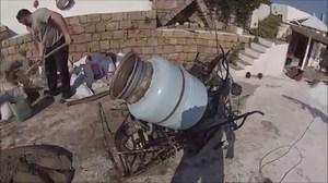 Бетономішалка своїми руками з пральної машини