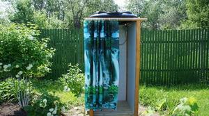 Как возвести летний душ своими руками