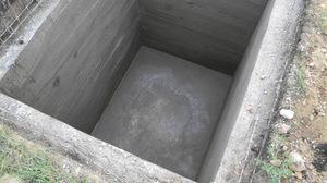 Бетонирование стен погреба