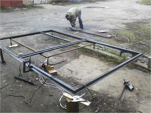 Перечень материалов и инструментов для изготовления распашных ворот своими руками