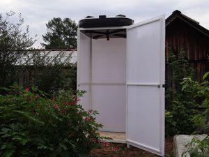 Как правильно построить летний душ