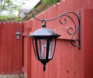 Как подключить фонари на даче