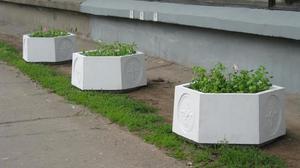 Вазоны для цветов уличные бетонные в спб