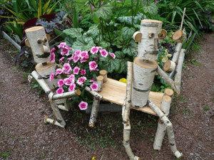 Садовые фигурки дачи своими руками