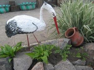 Поделки из шин для сада и огорода своими руками - мастер