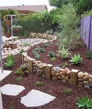 Оформление сада, огорода своими руками