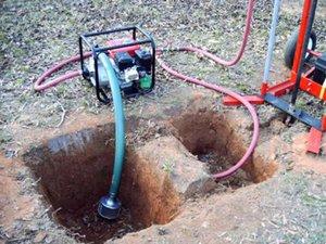 Как происходит бурение скважин на воду
