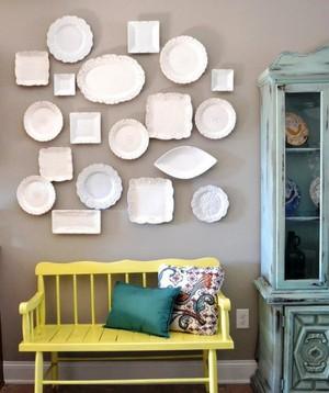 Оригинальный декор для стен дома из подручных материалов