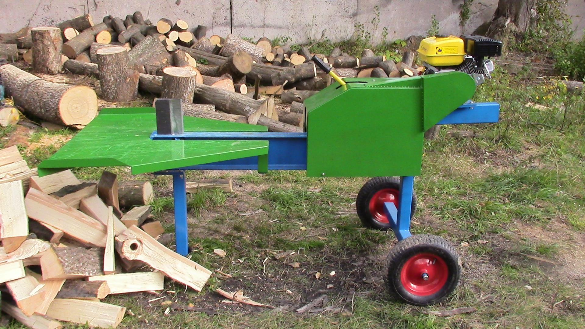 Сооружение дровокола своими руками