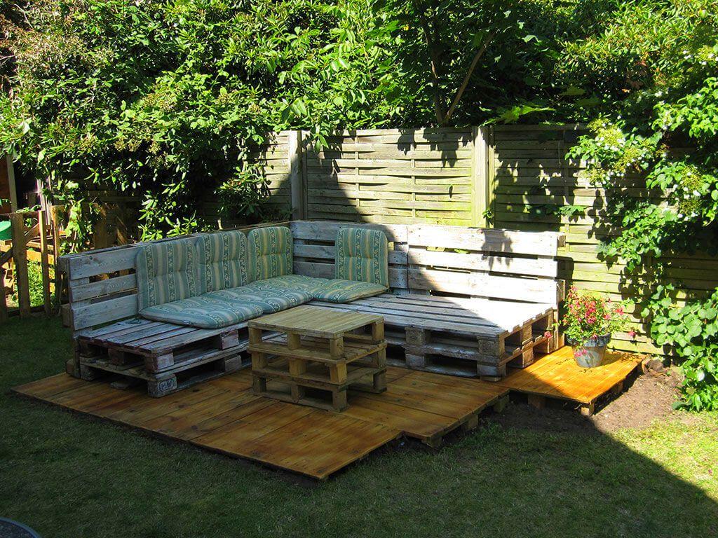 Садовая мебель своими руками: фото удачных самоделок