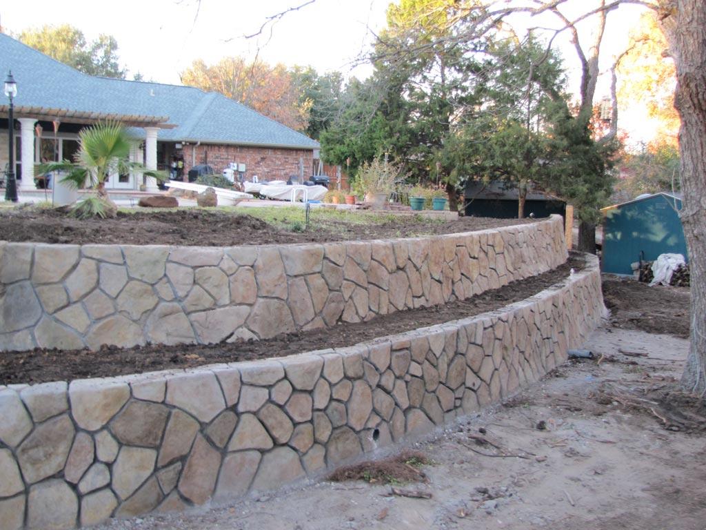 Как сделать подпорную стенку из бетона: инструкция и чертеж