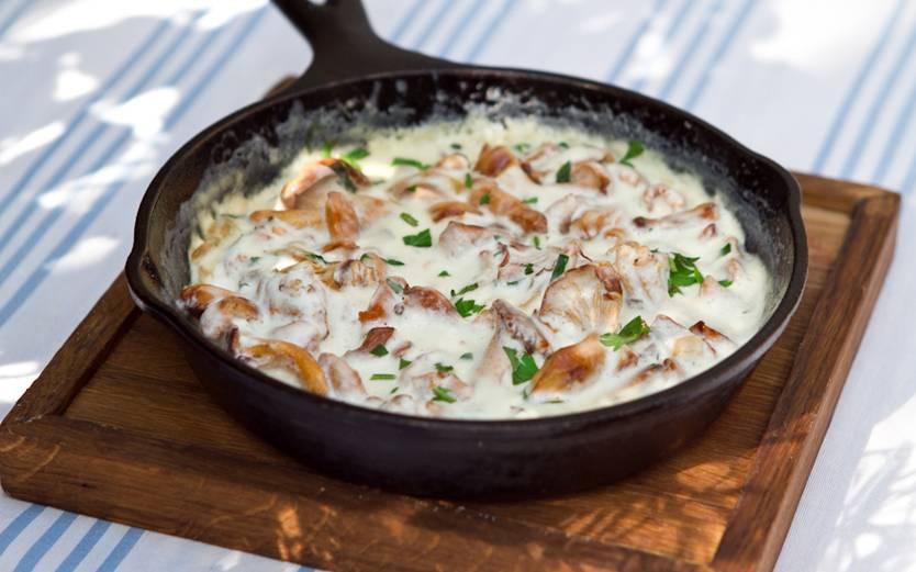 Как в ресторане: 5 невероятно вкусных и красивых рецепта с лисичками