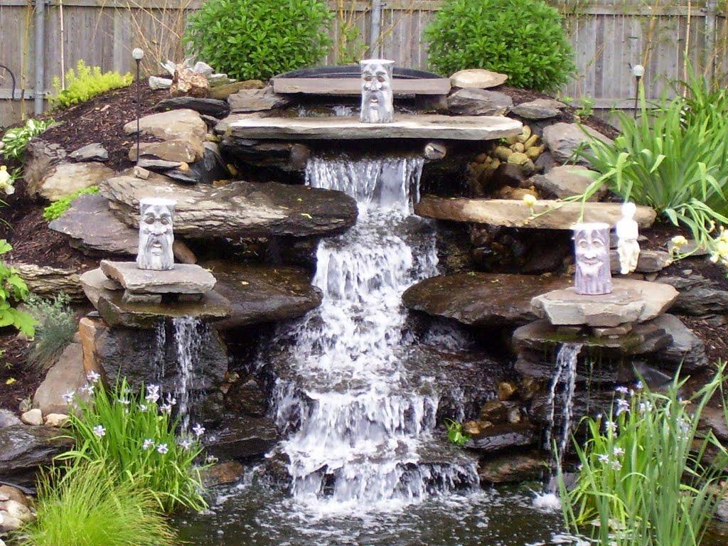 Выбор насоса для создания фонтана или водопада на даче