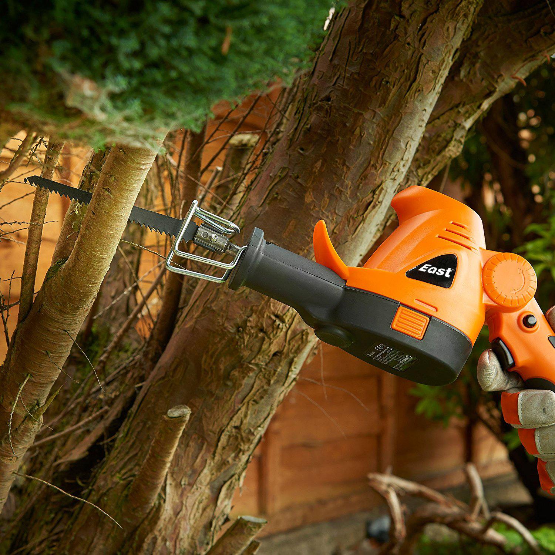 Особенности цепной садовой электропилы по дереву