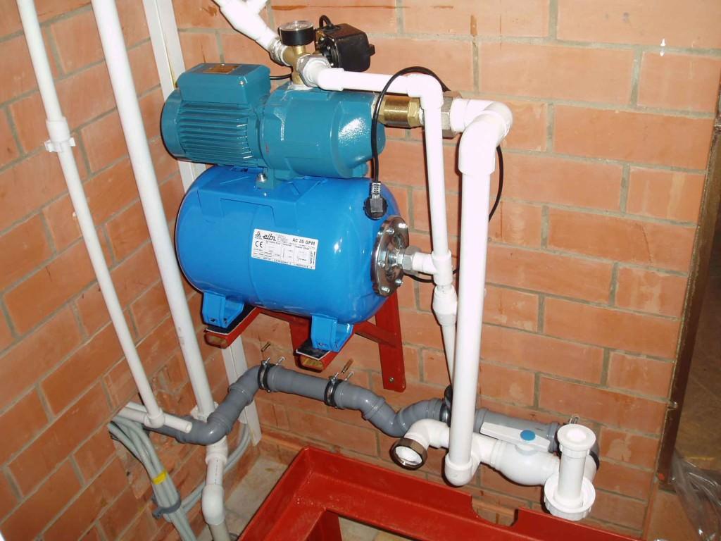Установка насосной станции в частном доме схема