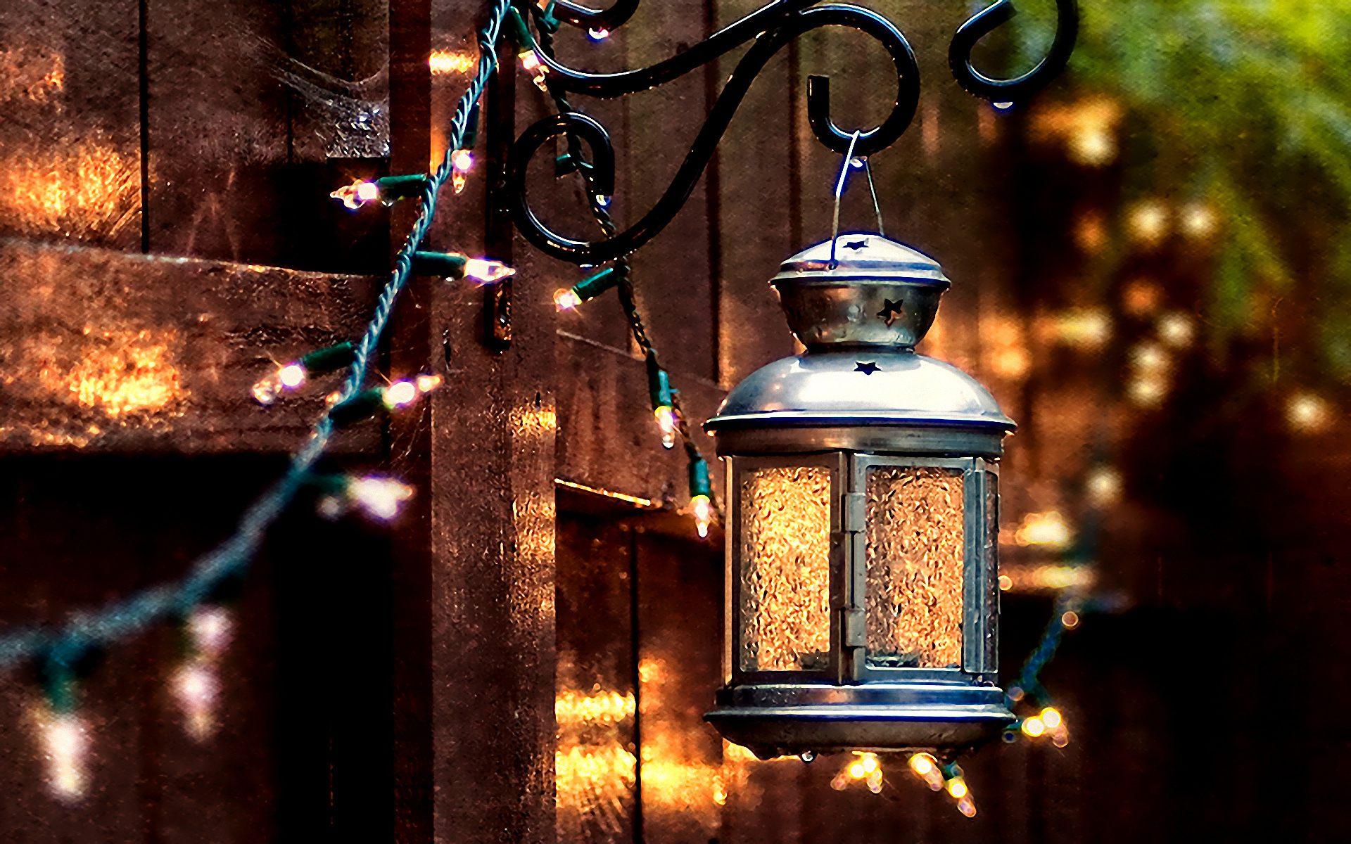Поделка, зимние картинки фонарики